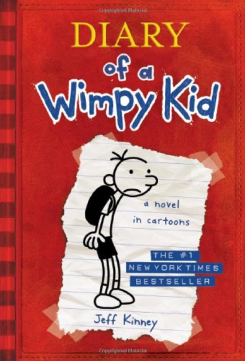 The first book in the Diary of a Wimpy Kid series is still available online.