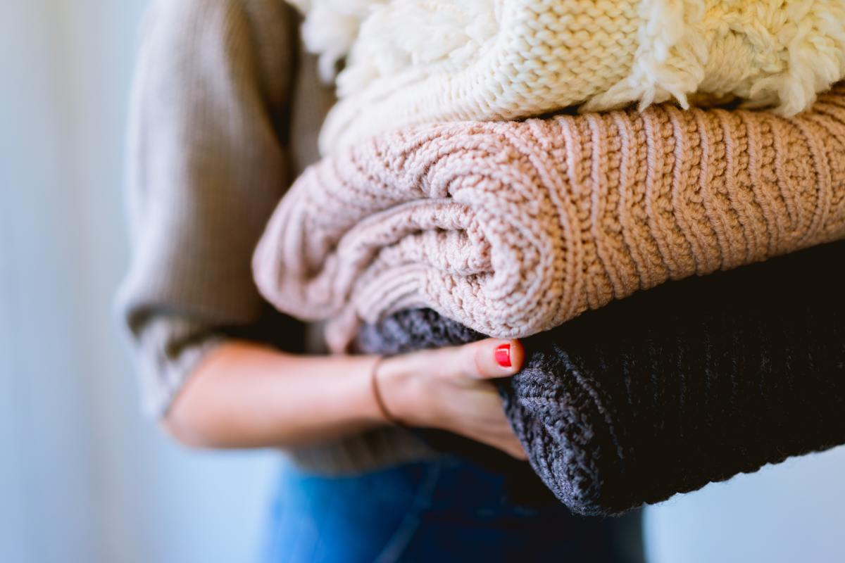 From musty old blankies to worn out leggings, it's time to organize.