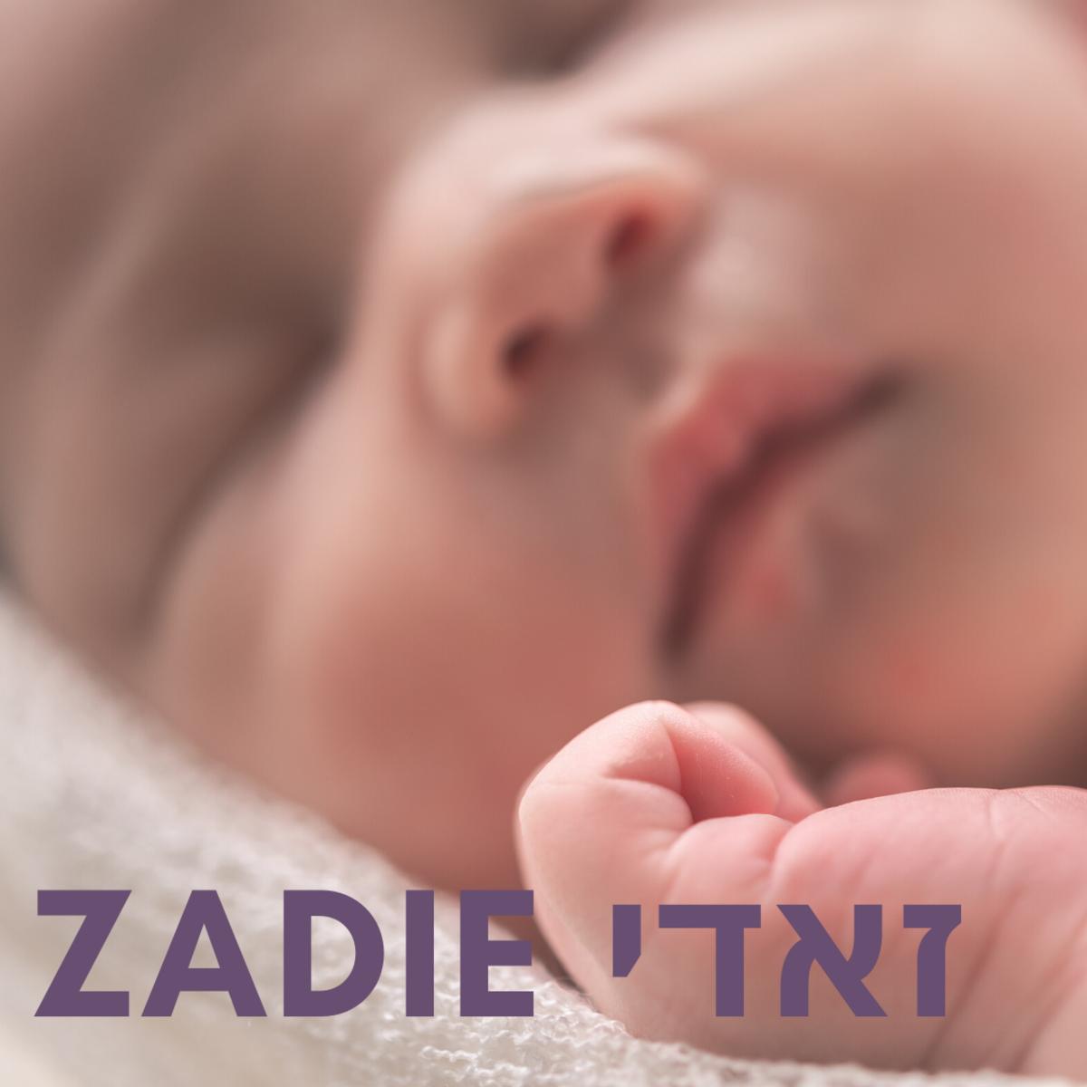 Baby Zadie