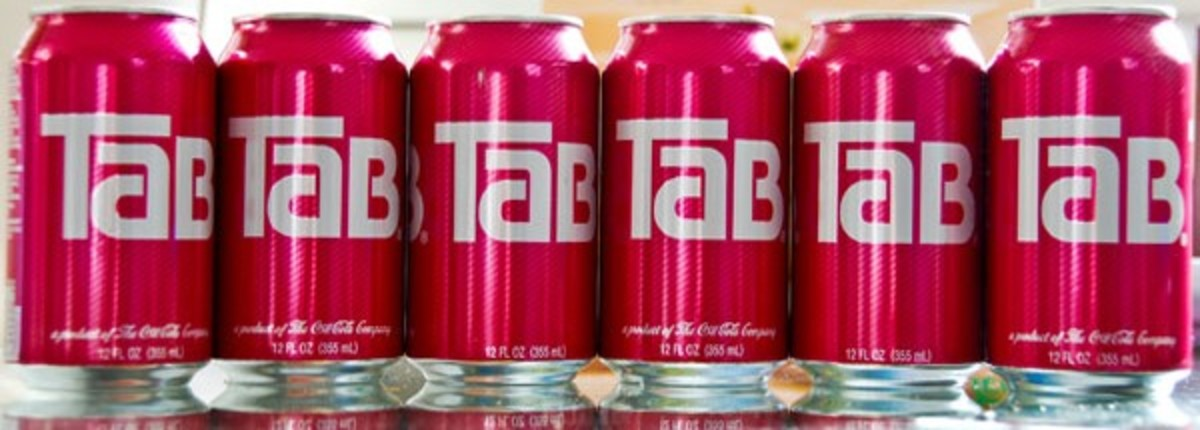 In 1974, Tab—a diet cola soft drink that was created and produced by the Coca-Cola Company—was a popular beverage.