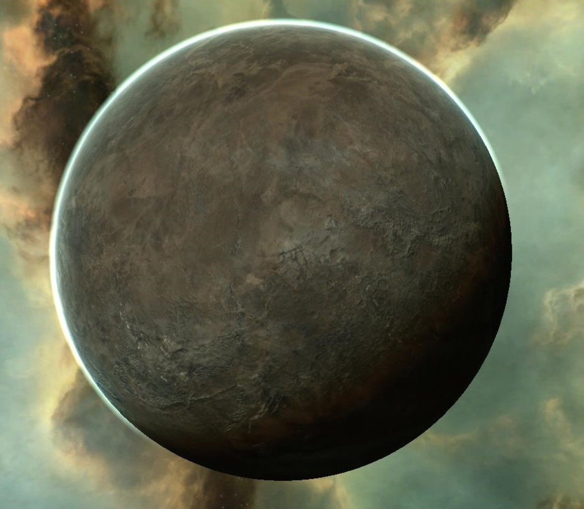 An example of a planet that can be developed to make additional profit for a trader in EVE Online.