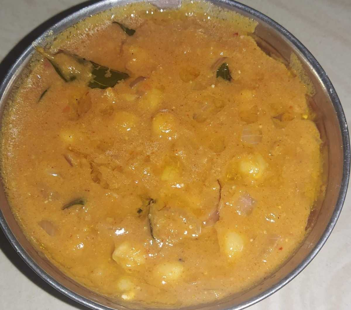 Healthy Channa Masala in Punjabi Style