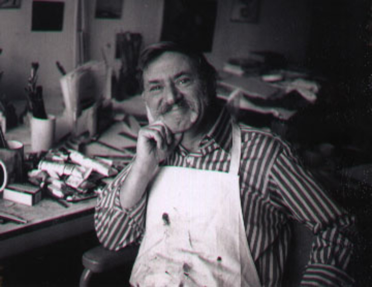 Author Ezra Jack Keats worked first as a graphic artist, then a comic book illustrator, then a children's book illustrator, and finally an author.