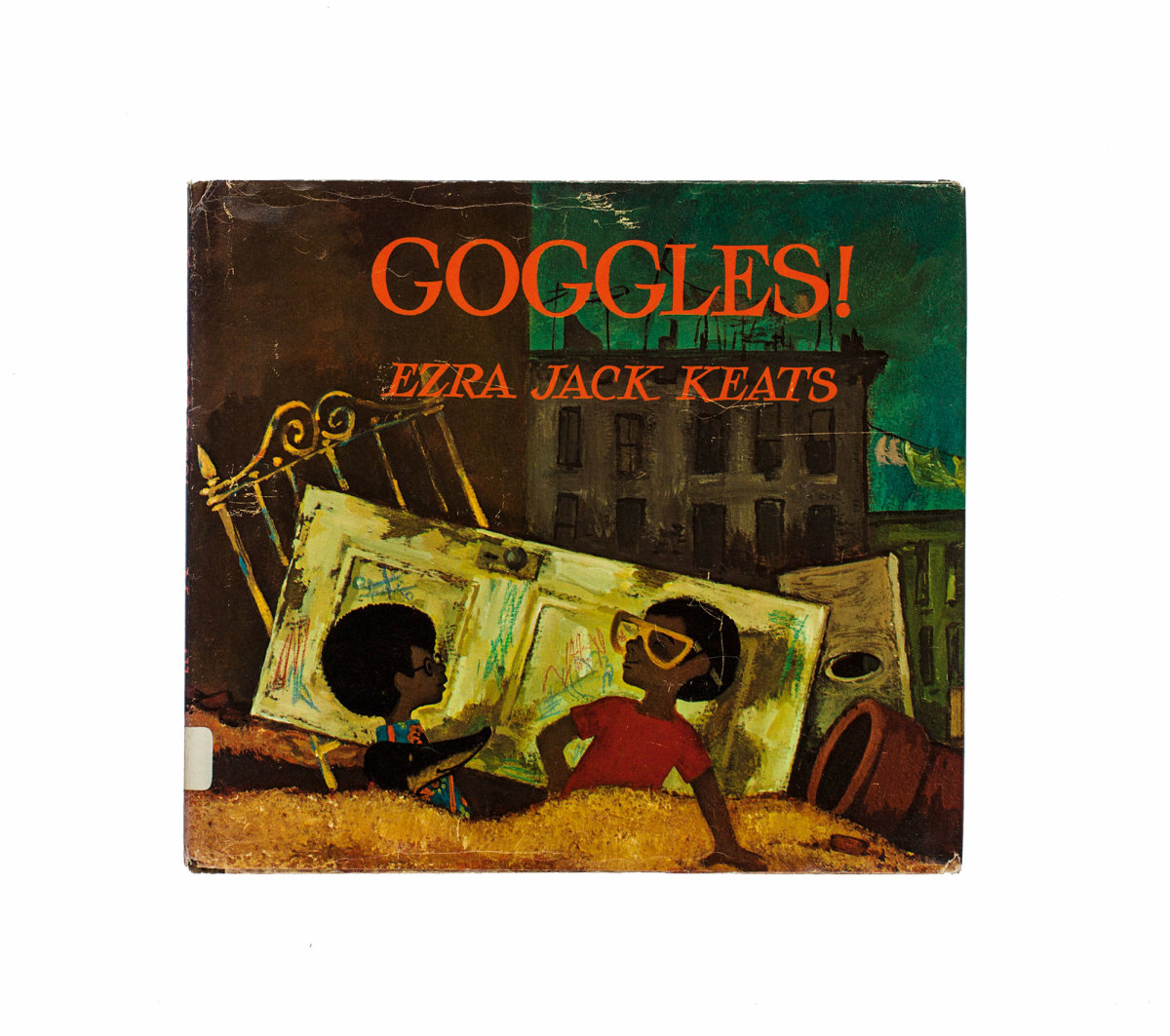Goggles by Ezra Jack Keats (the author of The Snowy Day) is about two young boys who encounter older bullies, who try to take away a new-found treasure.