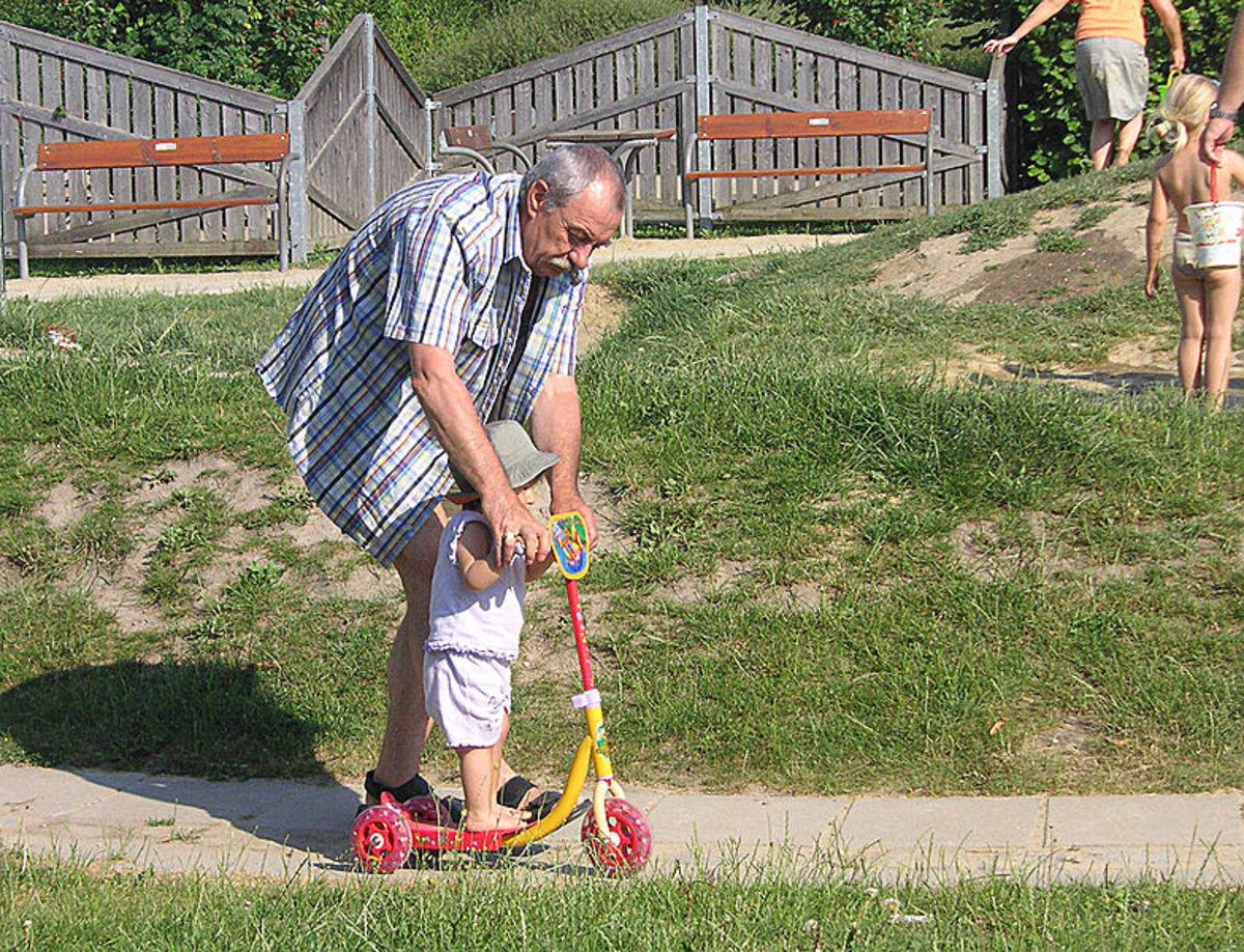 Grandpa as teacher