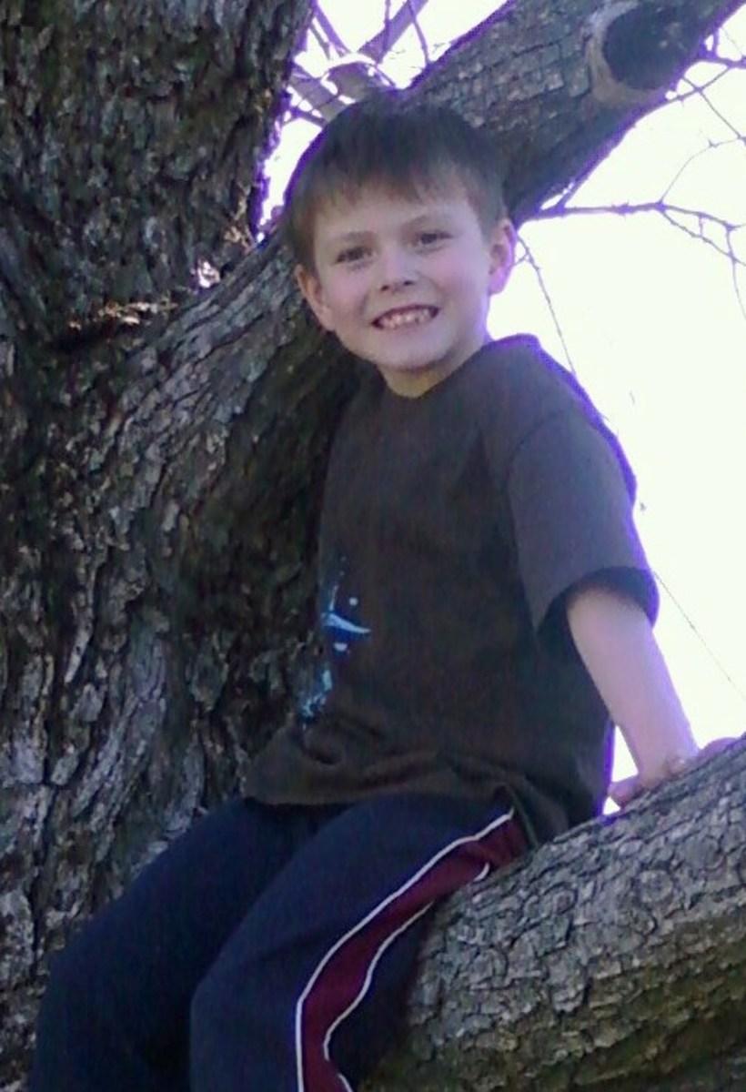 Wyatt enjoying life with niacin.