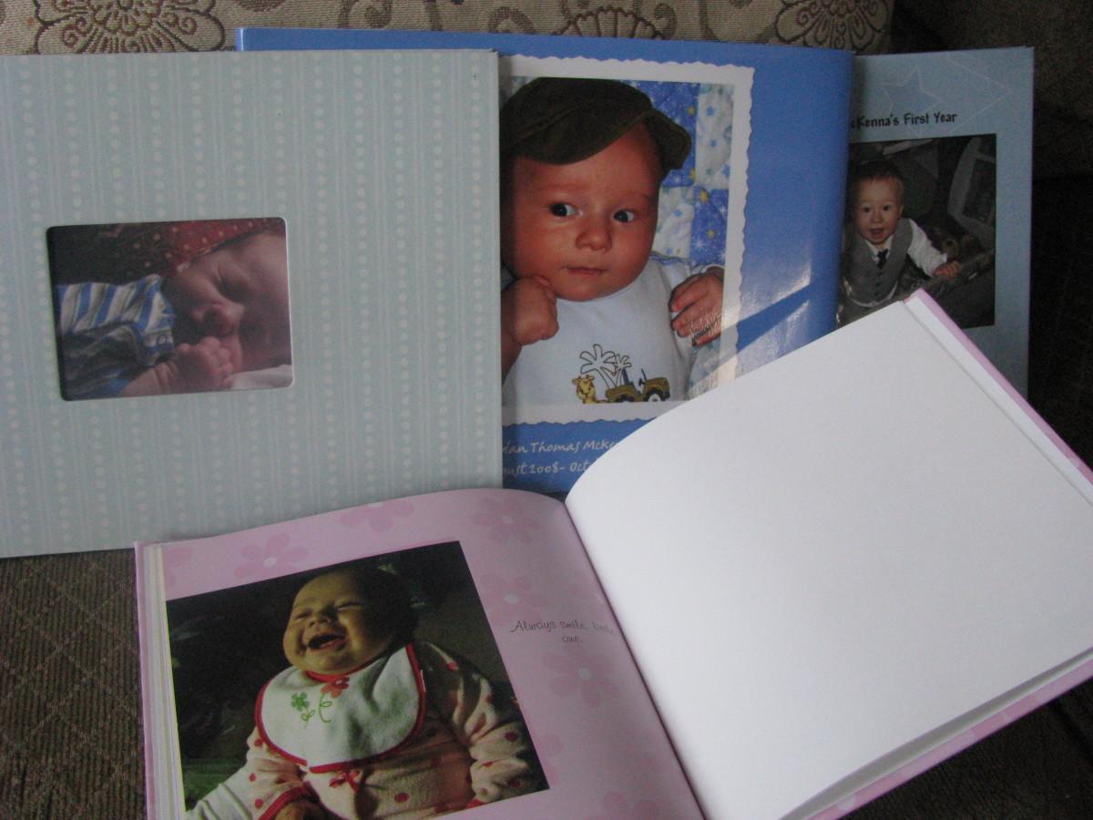 Photobooks I Made on Shutterfly.com