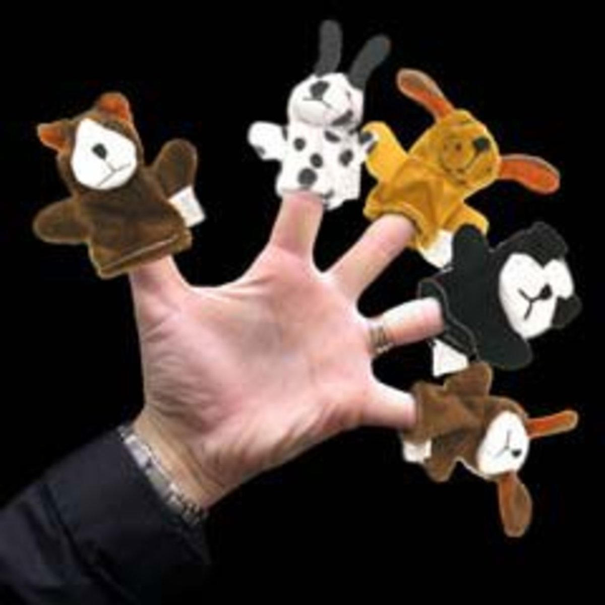 Buy dog finger puppets here!