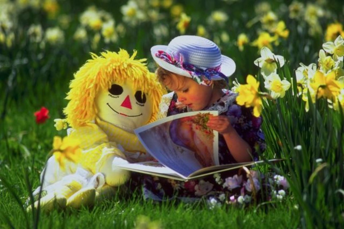 Increase your childs confidence by teaching them how to read a book