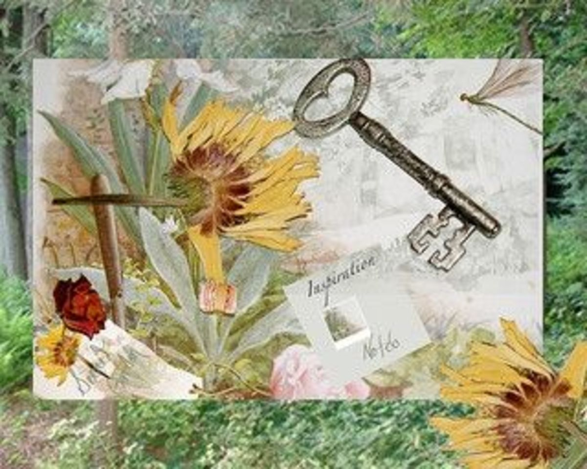 Secret Garden Collage