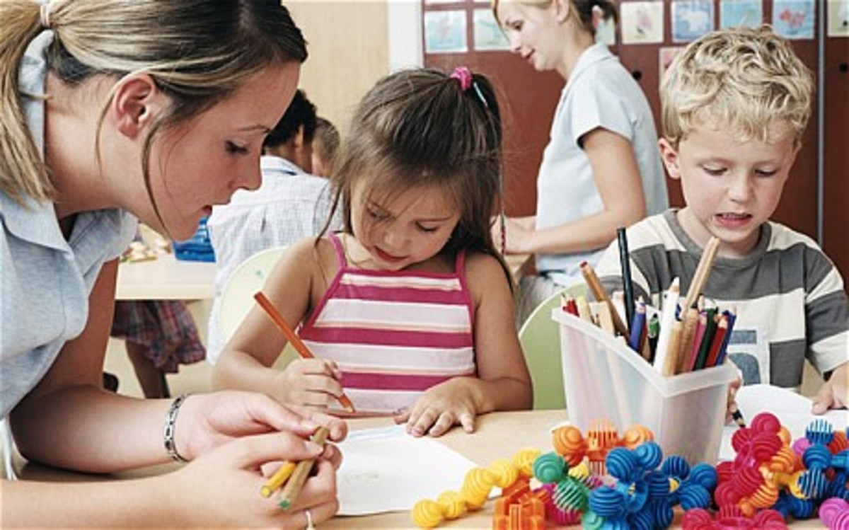 Gently let your child know that an interview for preschool is not a playdate and encourage them to listen to instructions.