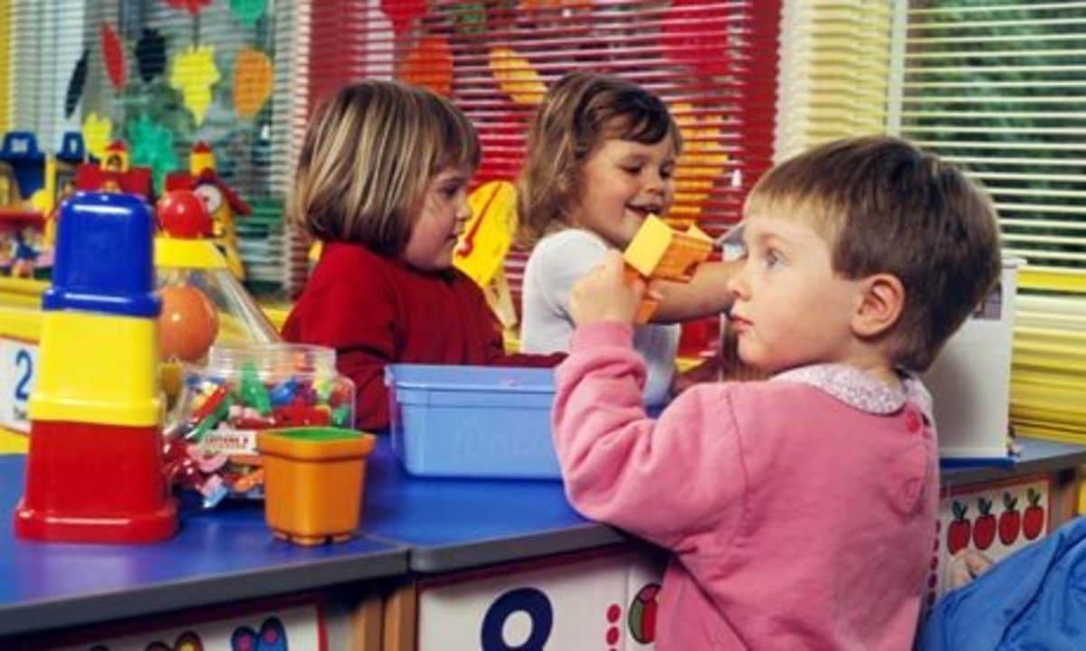 Preschool staff will most likely observe your child playing as part of the interview as well as ask your child questions.