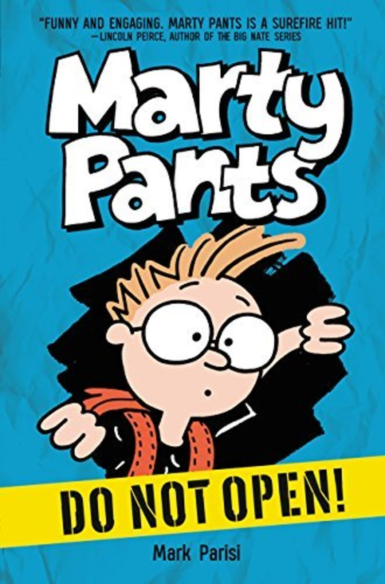 Marty Pants # 1: Do Not Open by Mark Parisi