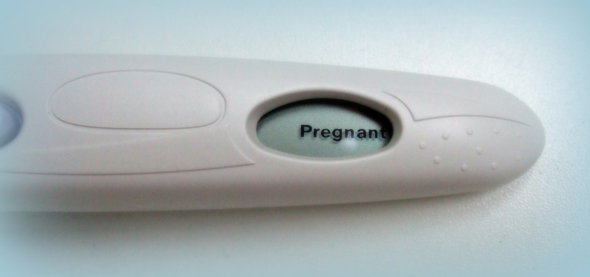 Some tests will say 'Pregnant' or 'Not Pregnant' just to make things really clear.