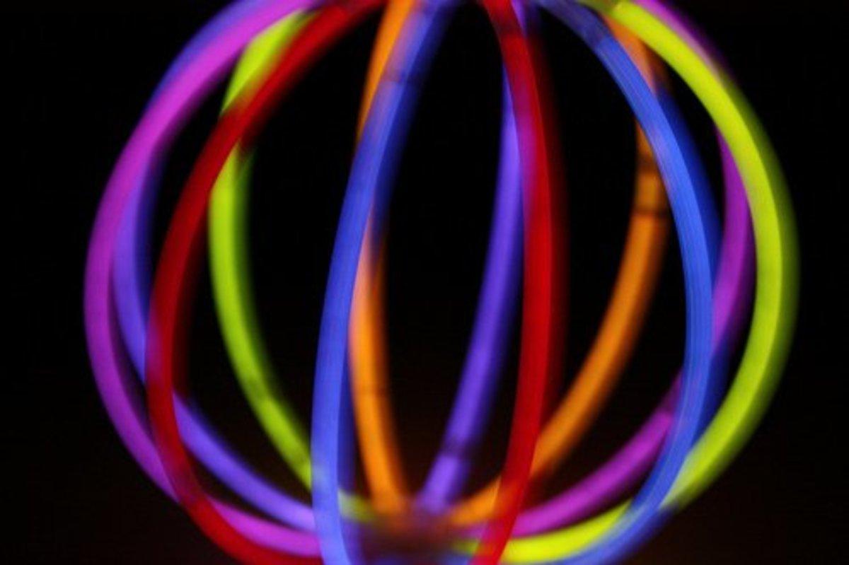 glow stick ball