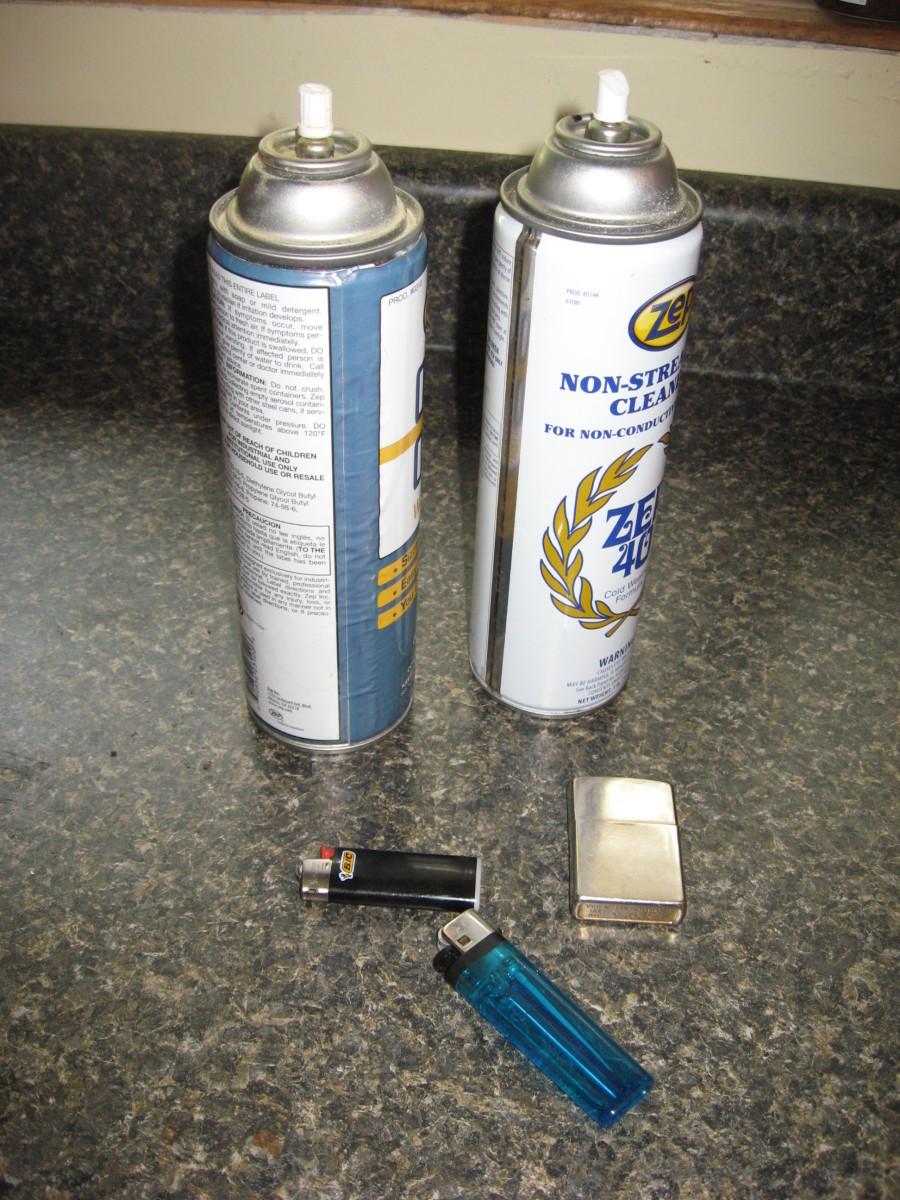 Huffing Inhalants
