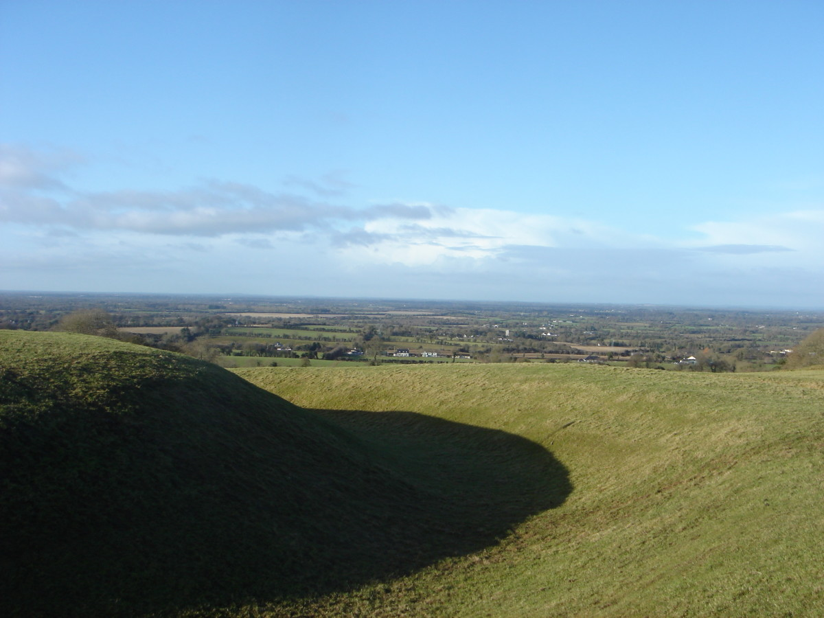 Hill at Tara, home of the Irish kings