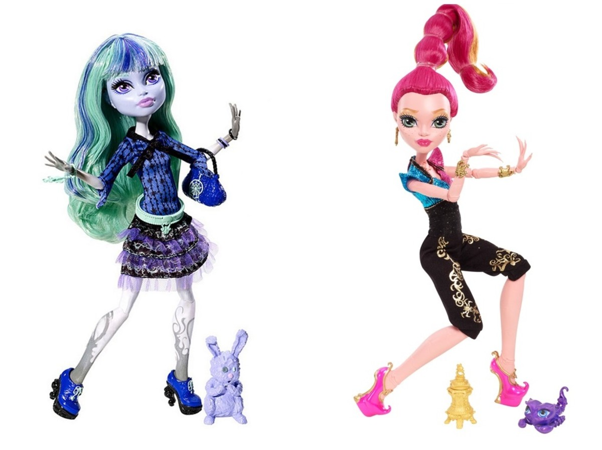 A Complete List of all the Monster High Doll Characters ...