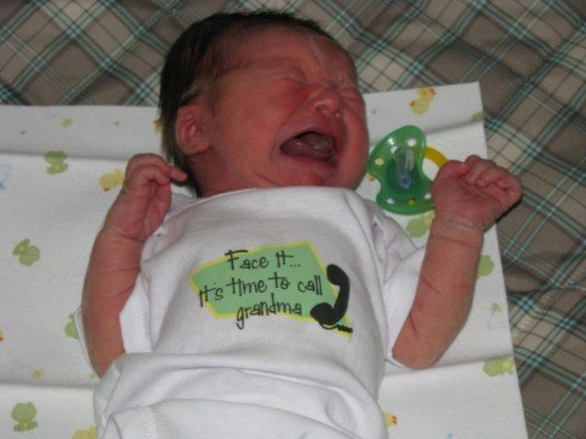 Why is the baby crying? Trust your instincts and learn to read those cries!