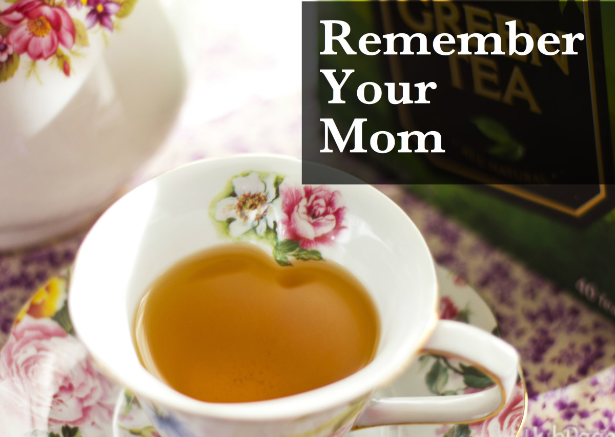 Let yourself remember both the good and the bad things about your mom.