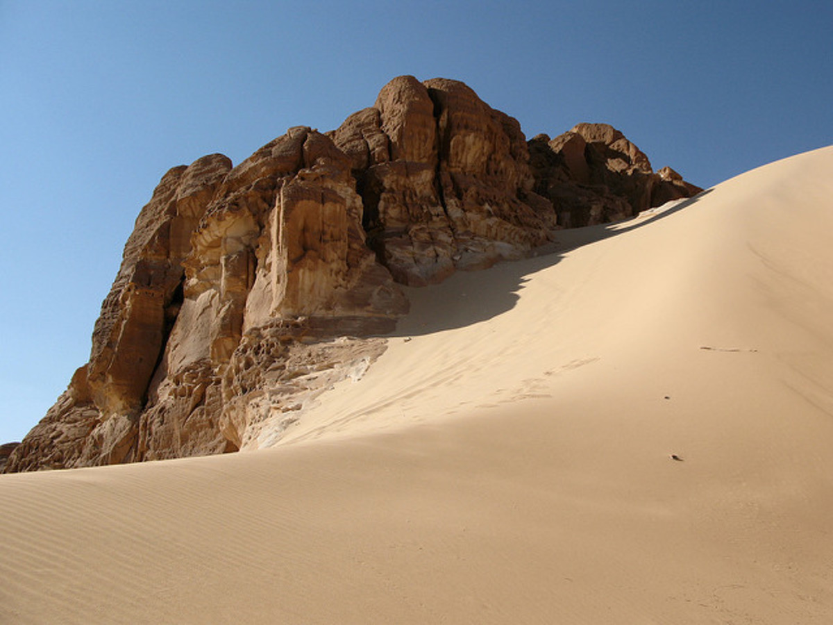 A name is permanent, but desert sand is in constant motion.