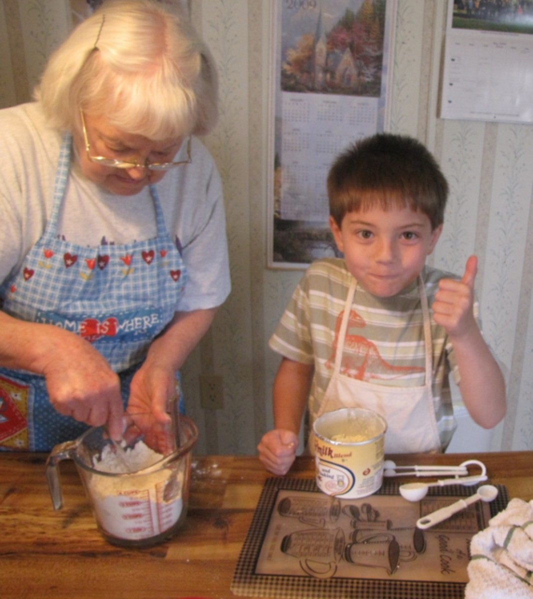 Food is tastier when you help to make it!