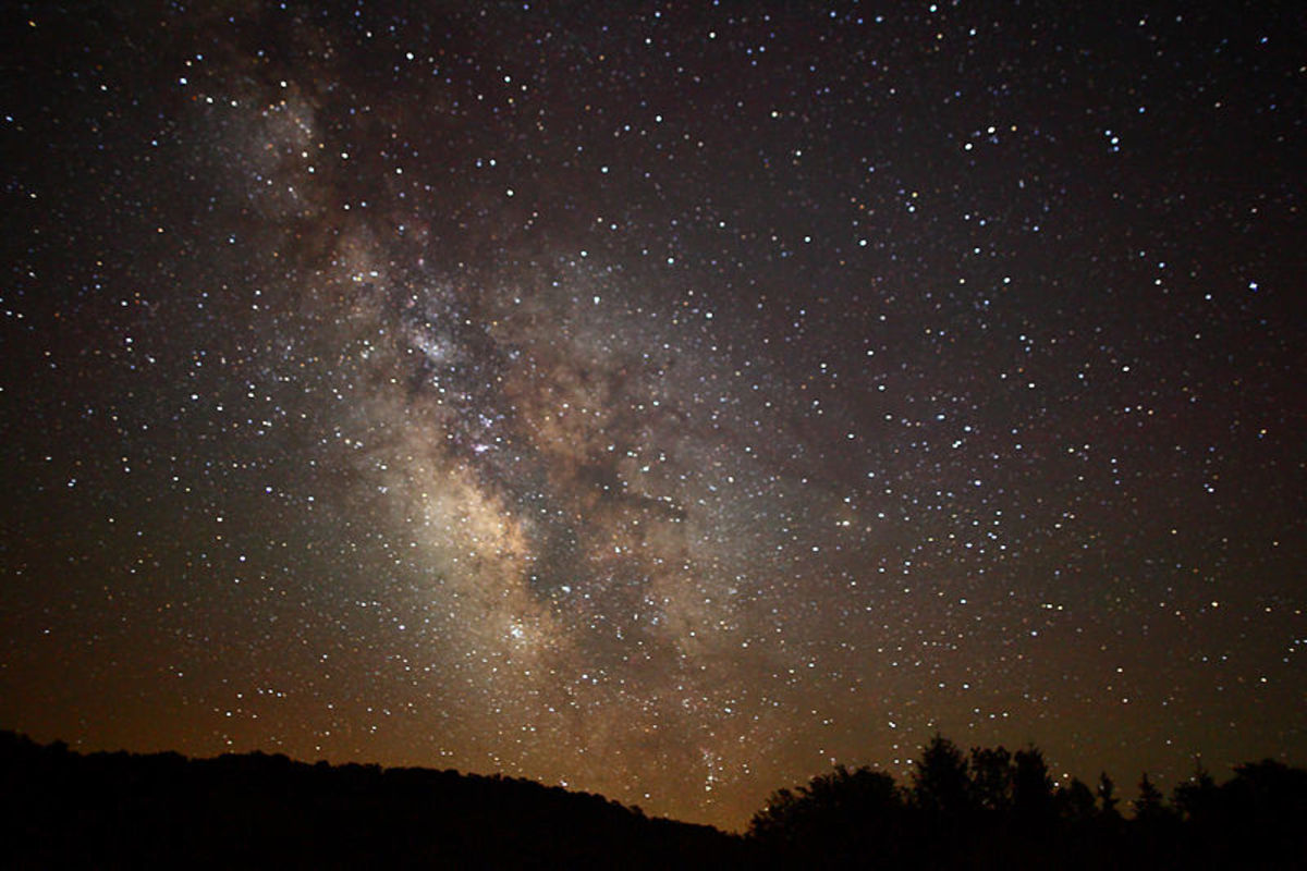 Amazing View of the Milky Way From West Virginia