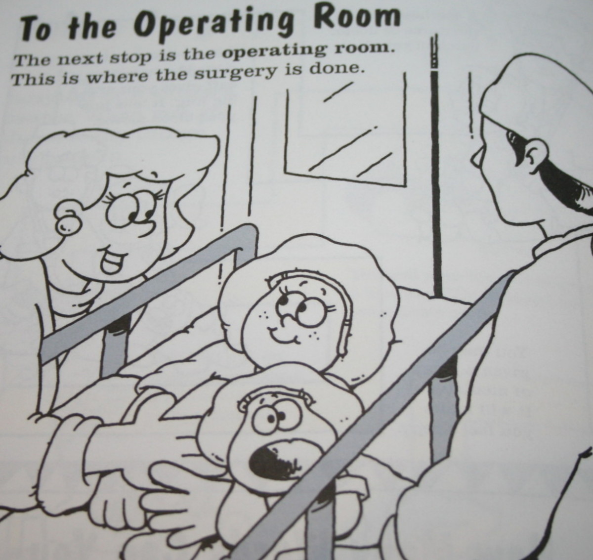 From My Surgery Activity Book by Krames Patient Education.