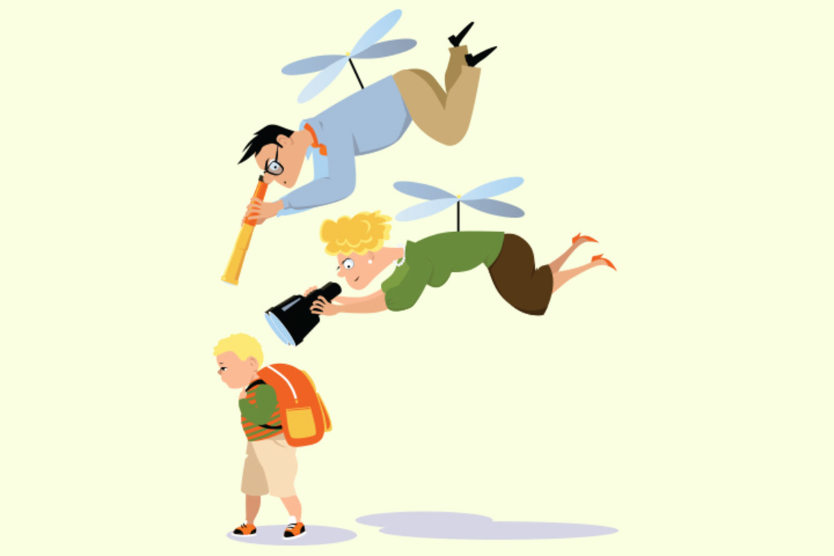 "how to helicopter parent style essay Parenting wars: tiger moms versus helicopter  maternal style must in turn have been  care of men of sense,"" wrote william cadogan in his essay on."