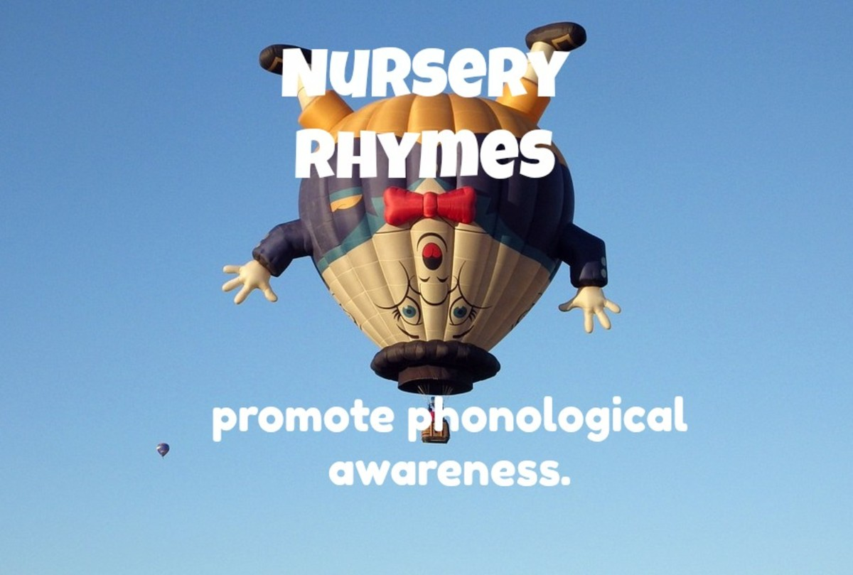 Most children today don't know nursery rhymes, which is sad because they're great for promoting phonological awareness.