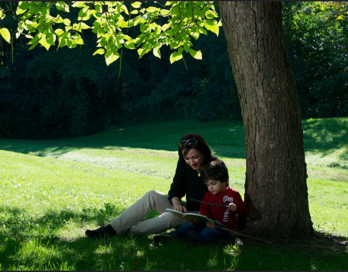 Make reading to your child a relaxed, pleasurable time for both of you.