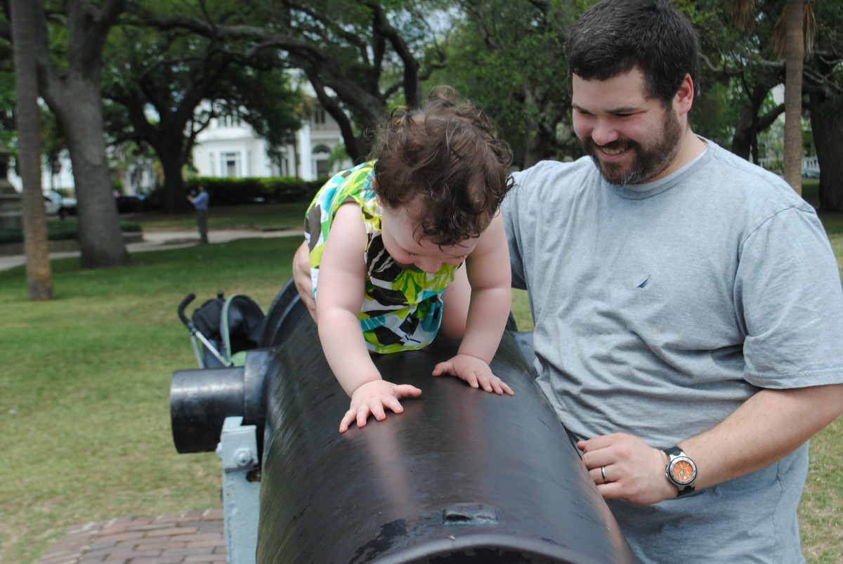 Better toddler spotter needed?  Kids rarely stay where you put them.