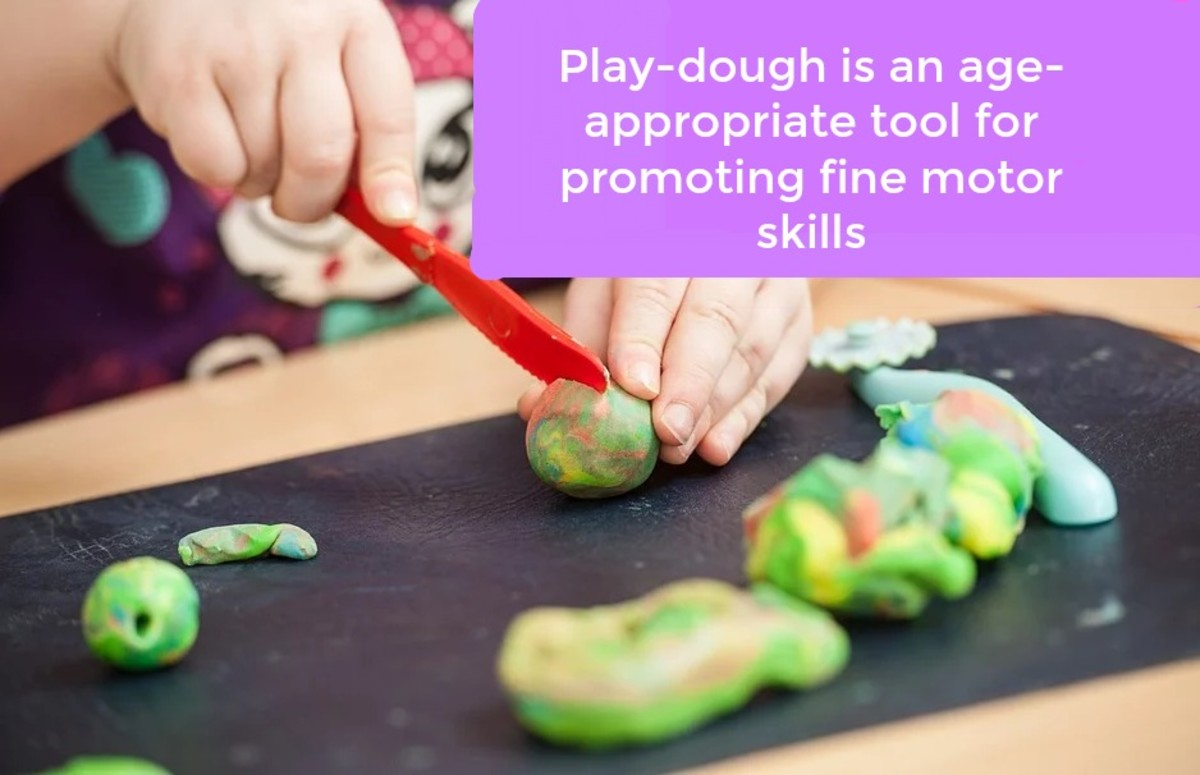 Unfortunately, some parents (and teachers, too) don't understand the importance of play-dough in developing the pincer grasp.