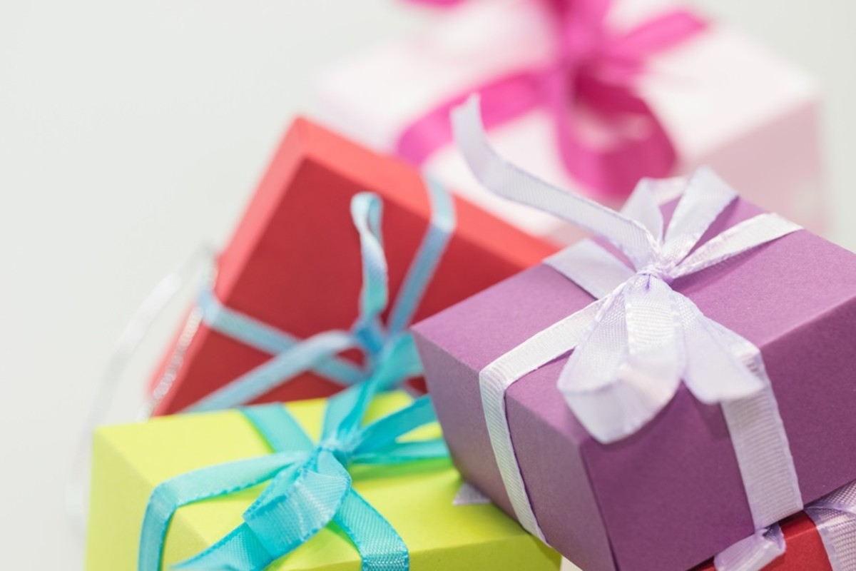 Make sure your gift box is always full and ready for any invitation