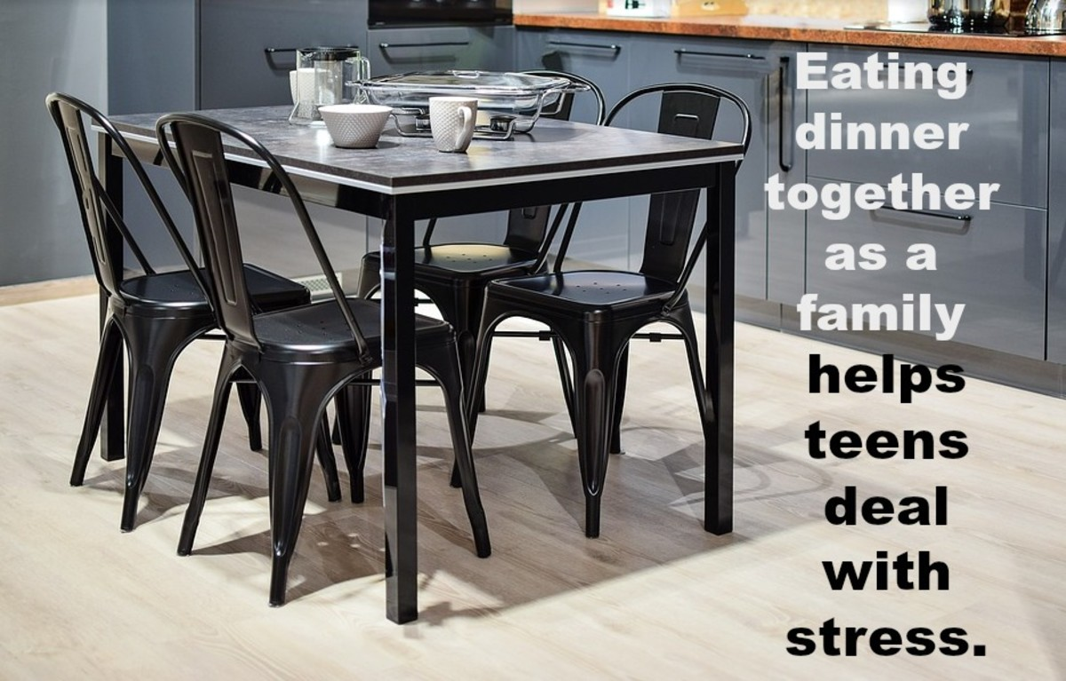 Rates of depression, anxiety, and suicide among teens are on the rise. Eating dinner together as a family is one way to combat the problem.