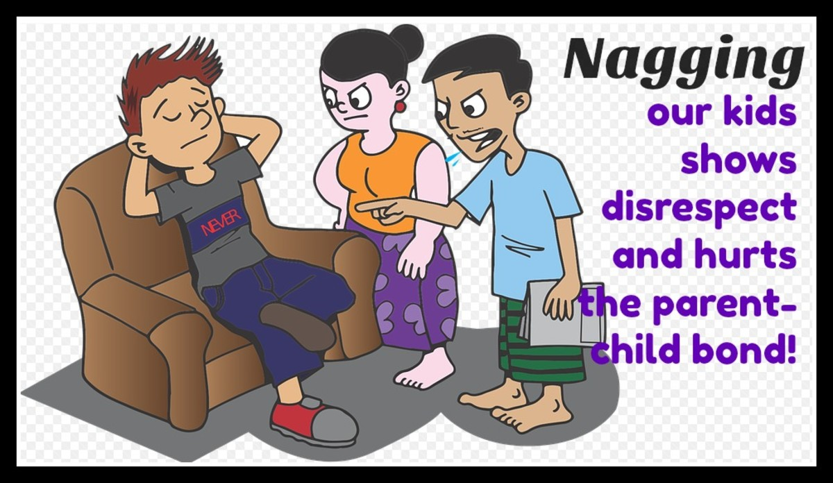 Nagging focuses on the negative—what the child isn't doing. Kids just tune it out after hearing it too much.