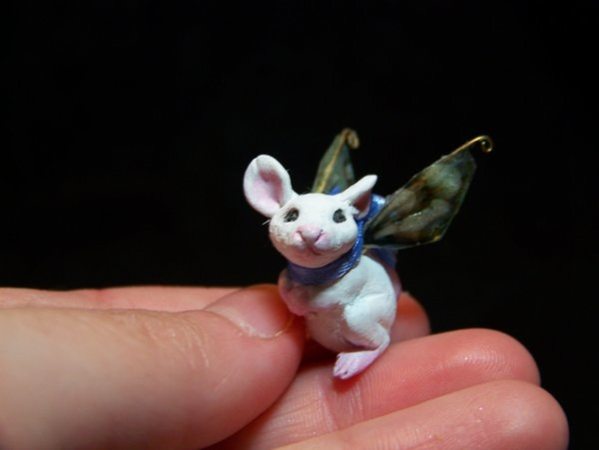 A fairy mouse from Amanda Kathryn