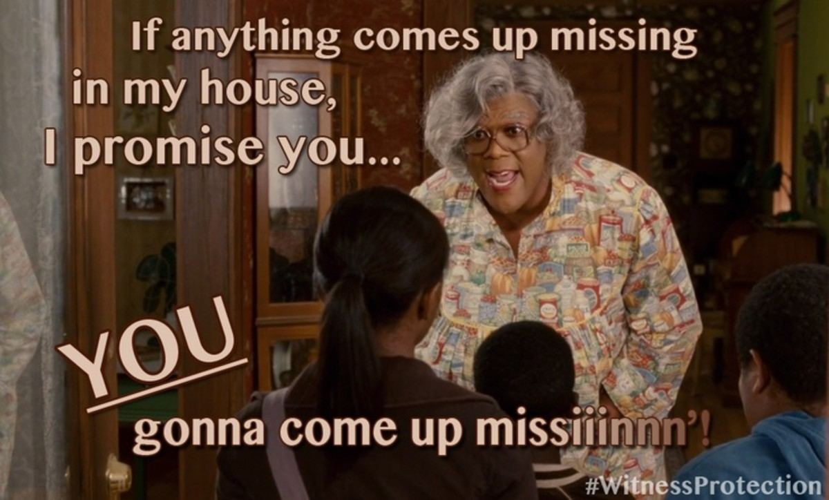 Madea establishes a no-nonsense code of conduct for the children.