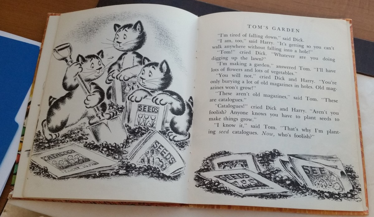 Churchmouse Stories, a favorite book from my childhood.