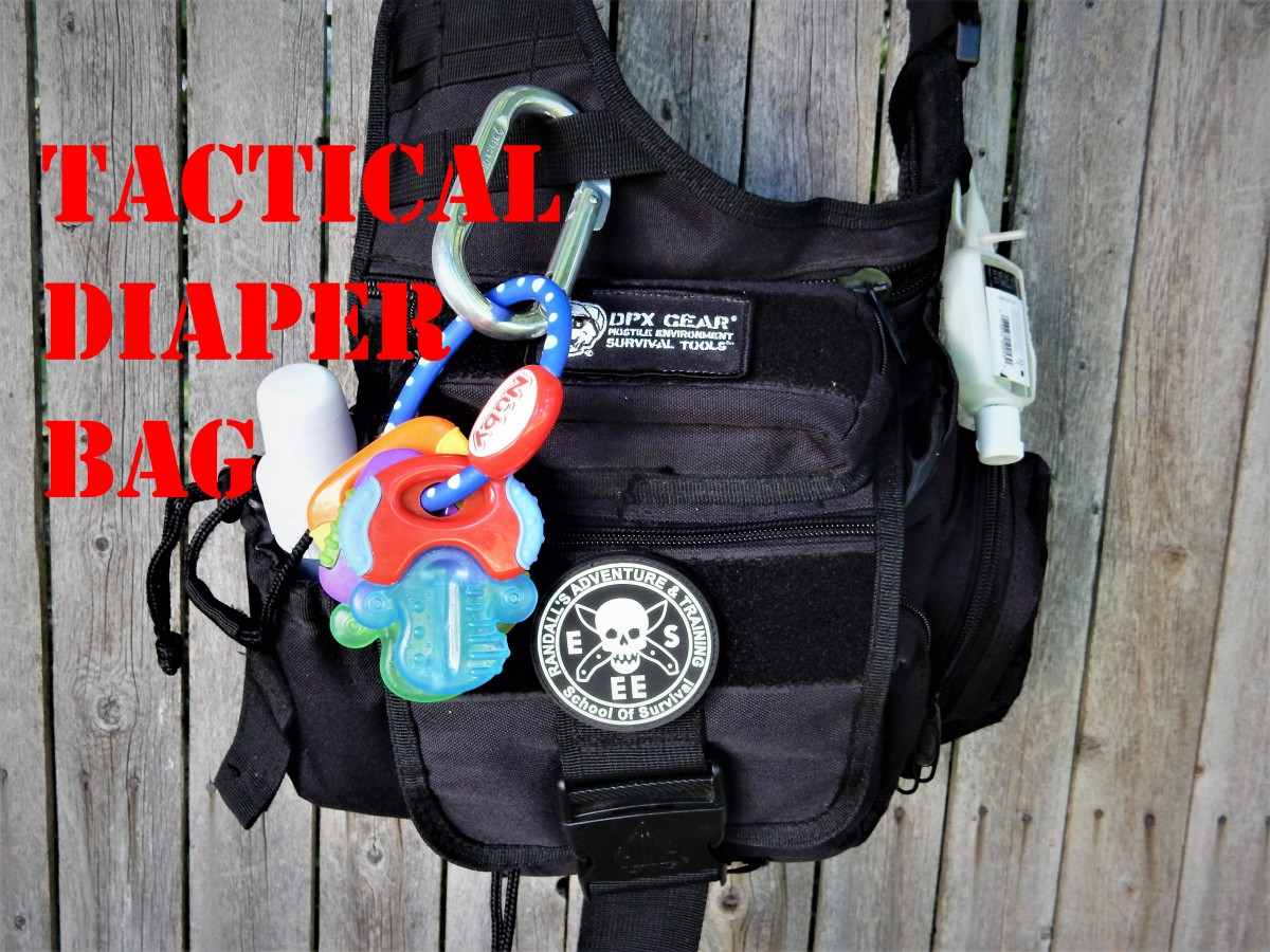 This tactical over the shoulder bag bag from UTG is perfect for the tacti-cool Dad.