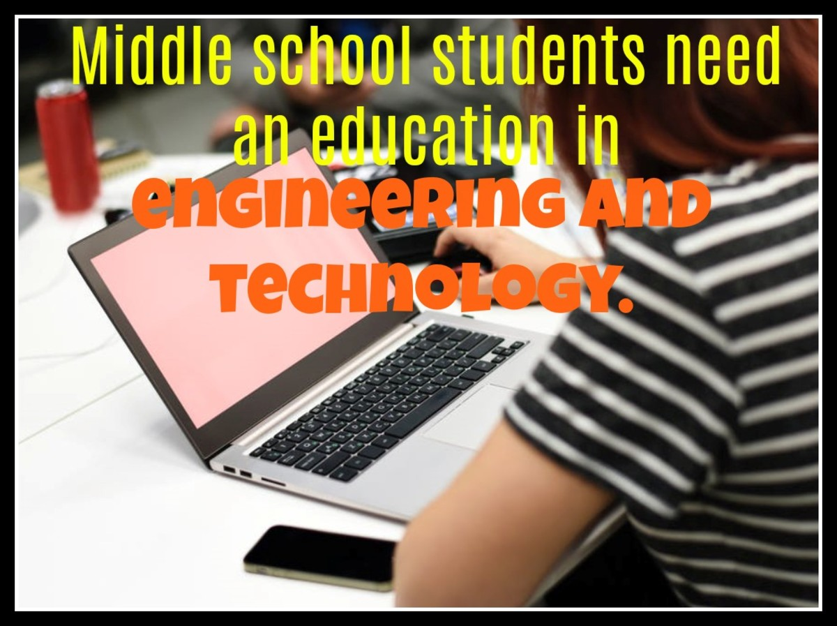 A staggering 72 percent of eighth graders say they are not taught engineering and technology at middle school.