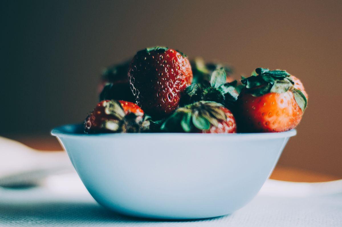 Strawberries have naturally occurring melatonin.