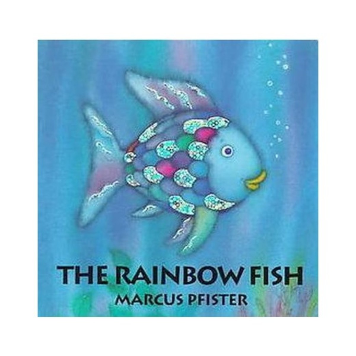 On the 25th anniversary of The Rainbow Fish, the official website asked readers to post pictures where they photoshopped Rainbow Fish into pictures from their world. Check out the hashtag on Instagram or Twitter!