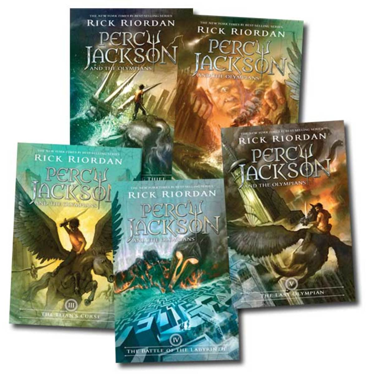 Rick Riordan first conceived this series as an ongoing bedtime story for his son, Haley, who was diagnosed with ADHD and dyslexia. Percy therefore also has ADHD and dyslexia.