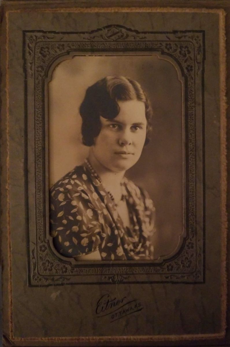 Photo of my great-aunt Viola (Bolte) McGhee.