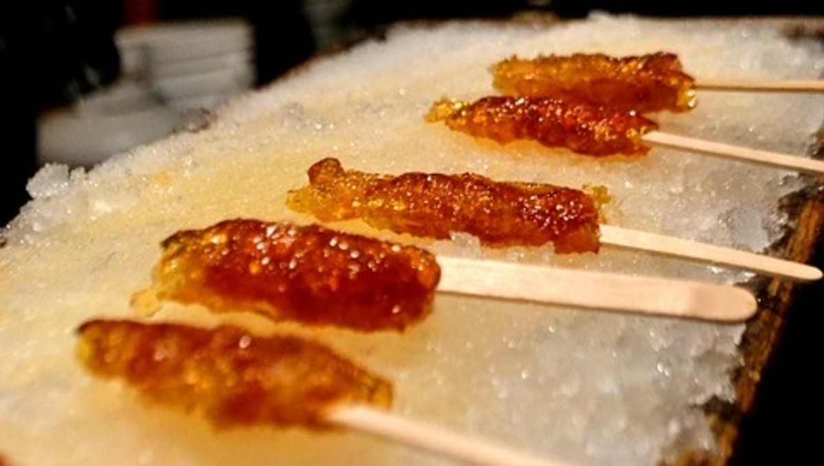 An alternative form of candy made from this recipe is the Maple Drizzle Stick.