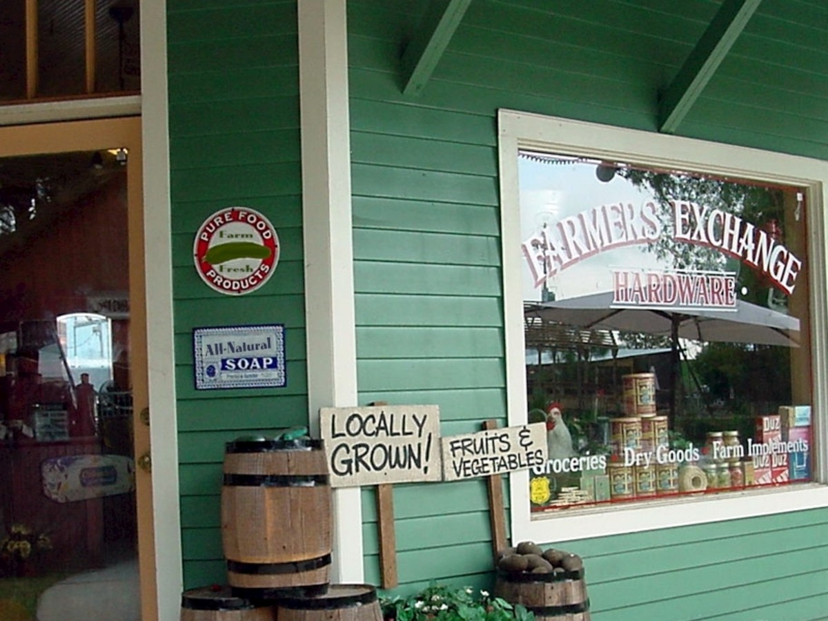 Frequent your local farmers.