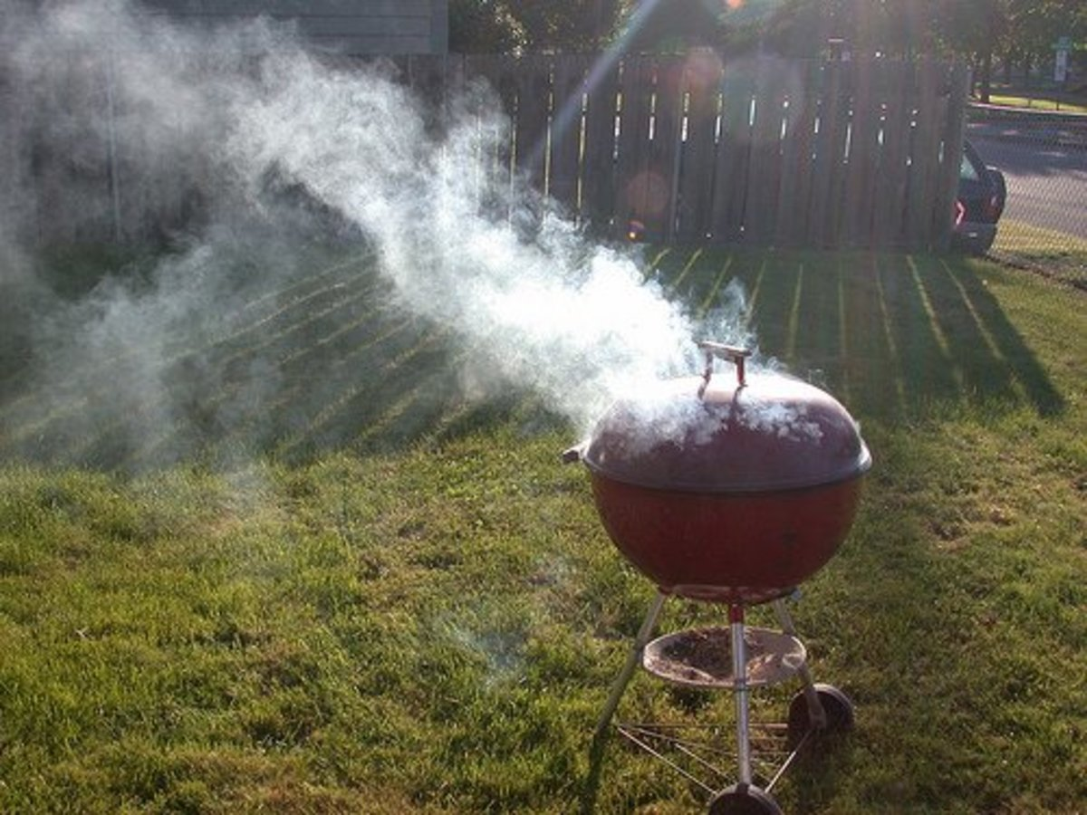 Easy Instructions for Hot Smoking a Home-Cured Ham in a Gas BBQ