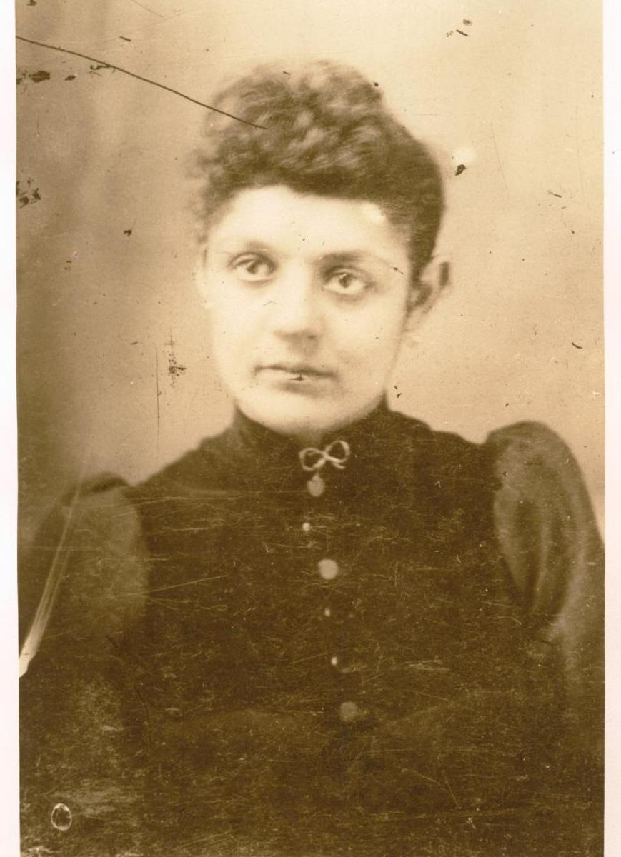 This is my Great Grandmother Ludmilla from Bohemia