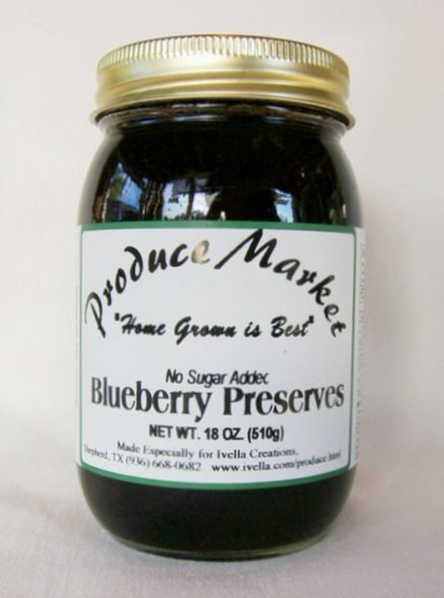 Blueberries Pose Special Challenges to Jam and Jelly Makers
